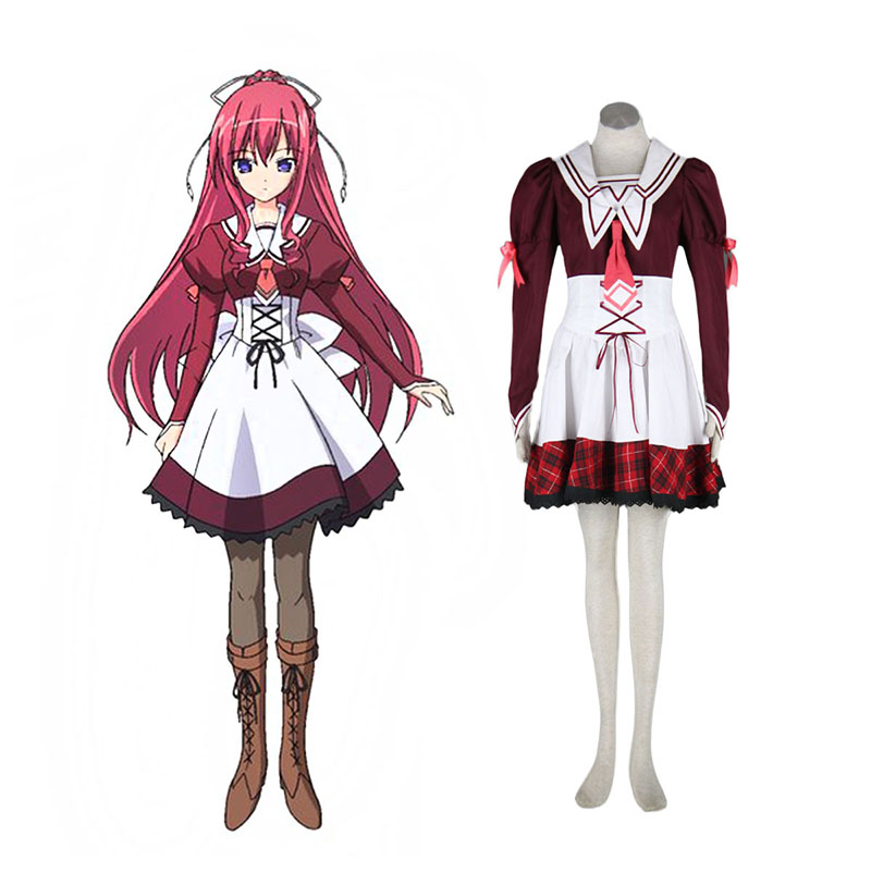 11eyes: Tsumi to Batsu to Aganai no Shōjo Misuzu Kusakabe Anime Cosplay Costumes Outfit