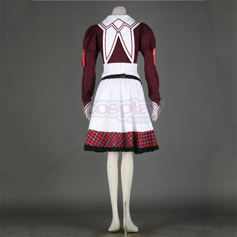 11eyes: Tsumi to Batsu to Aganai no Shōjo Kanae Kuroshiba Anime Cosplay Costumes Outfit