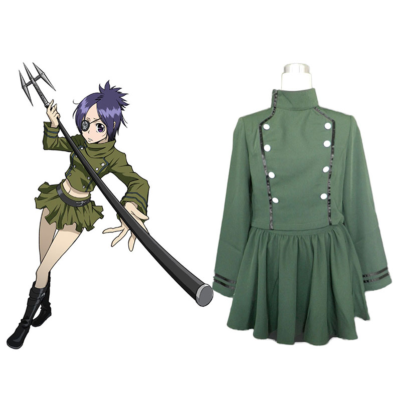 Hitman Reborn Chrome Dokuro Anime Cosplay Costumes Outfit