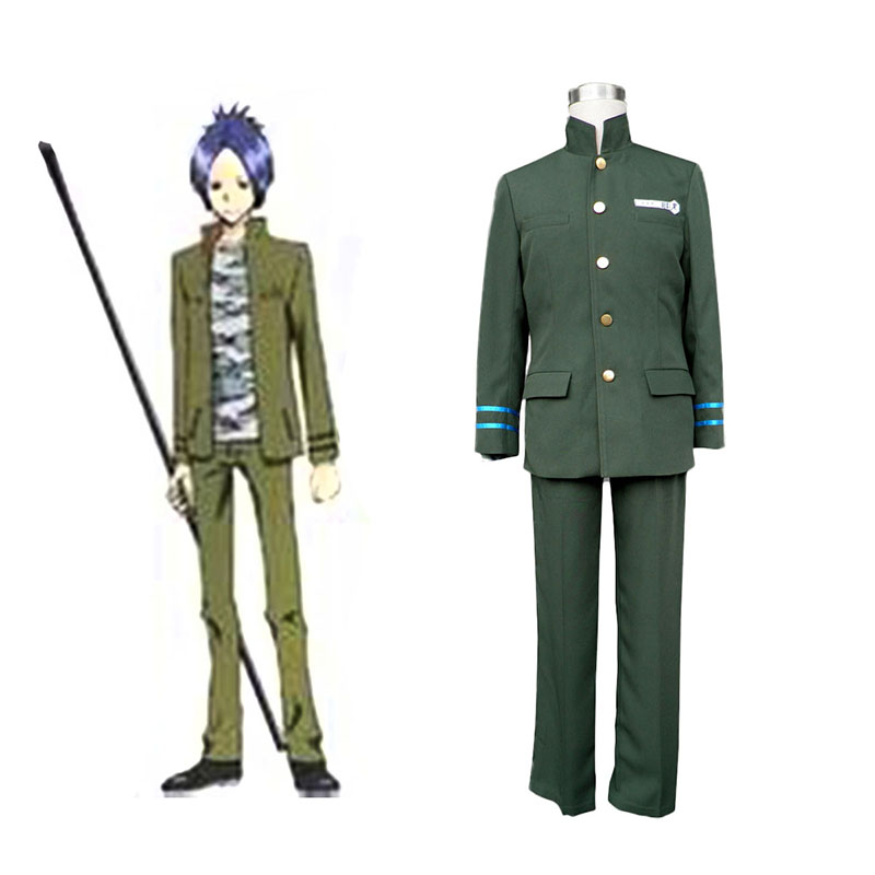 Hitman Reborn Junior High School Male Uniforms 2 Anime Cosplay Costumes Outfit