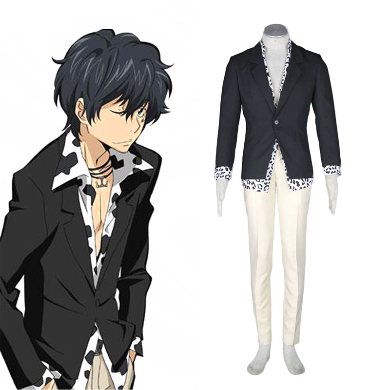 Hitman Reborn Ranbo 1 Anime Cosplay Costumes Outfit