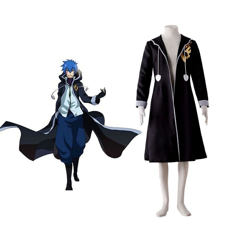 Fairy Tail Jellal Fernandes 1 Anime Cosplay Costumes Outfit