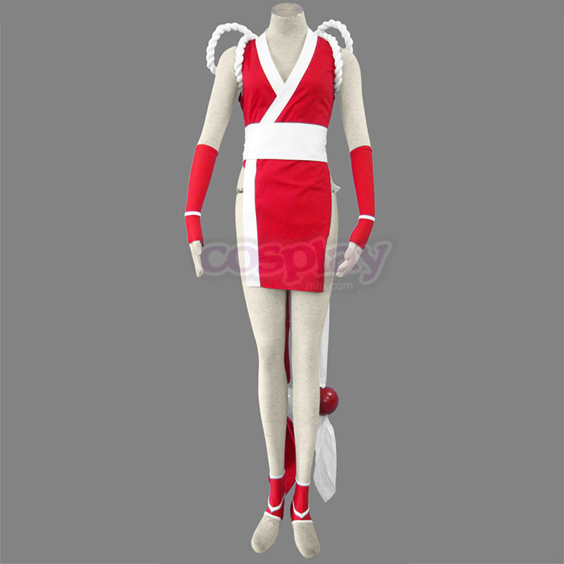 The King Of Fighters Mai Shiranui 1 Anime Cosplay Costumes Outfit