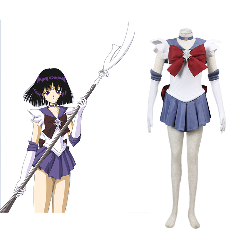 Sailor Moon Hotaru Tomoe 1 Anime Cosplay Costumes Outfit