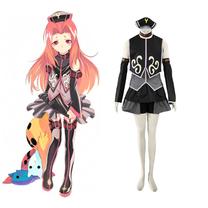 Tales of the Abyss Arietta 1 Anime Cosplay Costumes Outfit