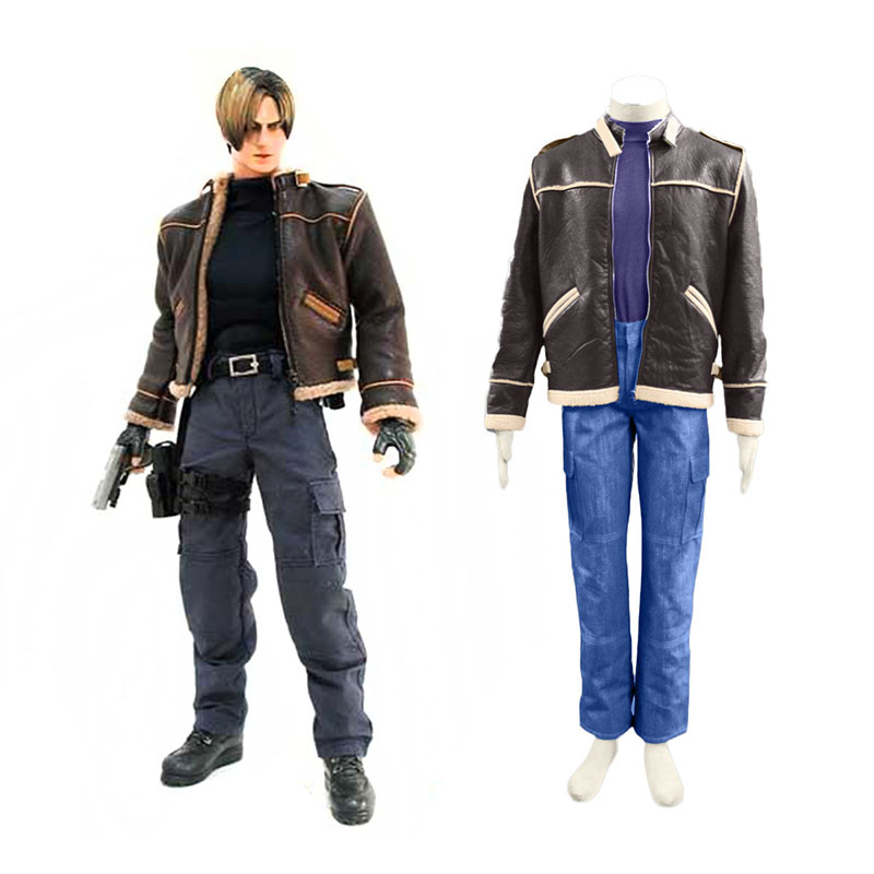 Resident Evil 4 Leon S. Kennedy Cosplay Costume
