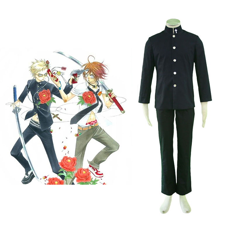 ZONE-00 Shima Anime Cosplay Costumes Outfit