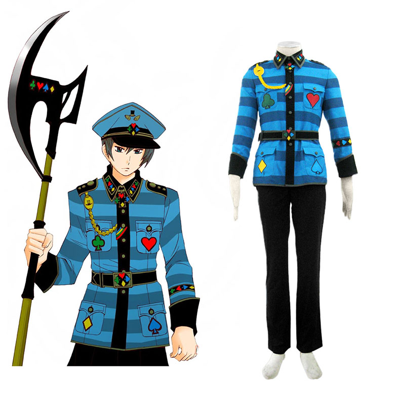 Alice in the Country of Hearts Blood Dupre Anime Cosplay Costumes Outfit