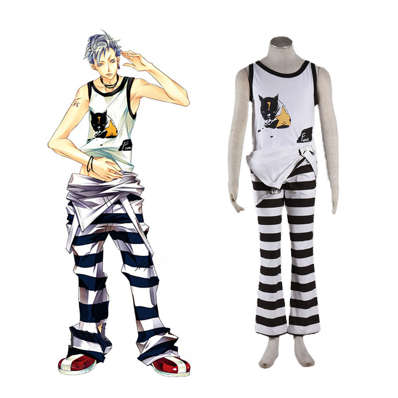 Lucky Dog1 Ivan·Fiore Anime Cosplay Costumes Outfit