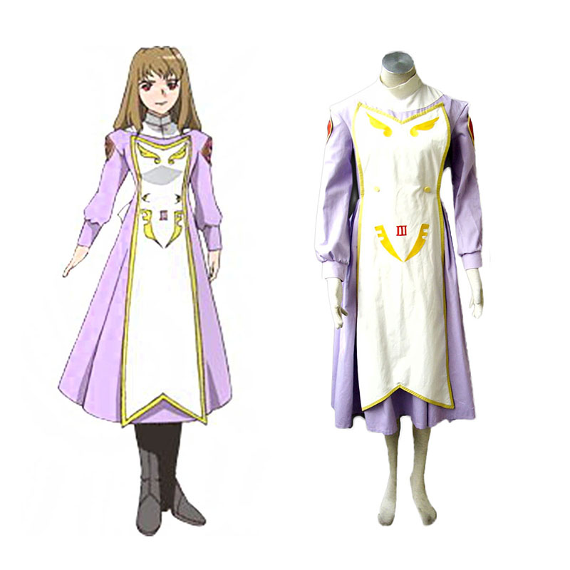 My-Otome Shizuru Viola Anime Cosplay Costumes Outfit