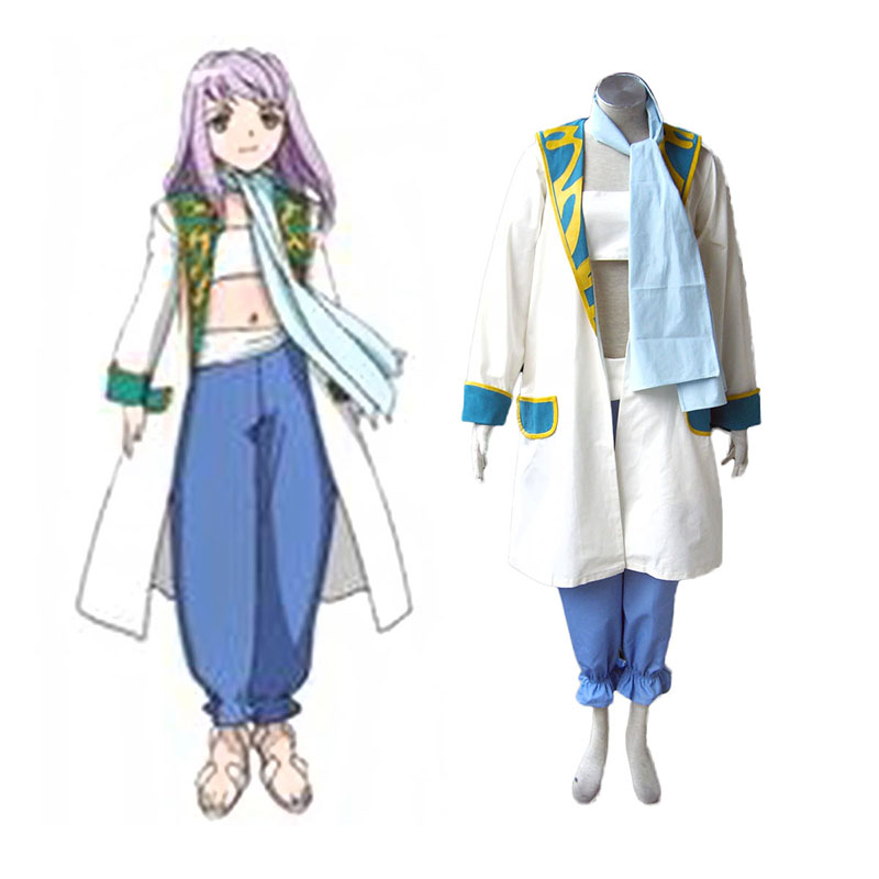 My-Otome Mashiro Blan de Windbloom Anime Cosplay Costumes Outfit