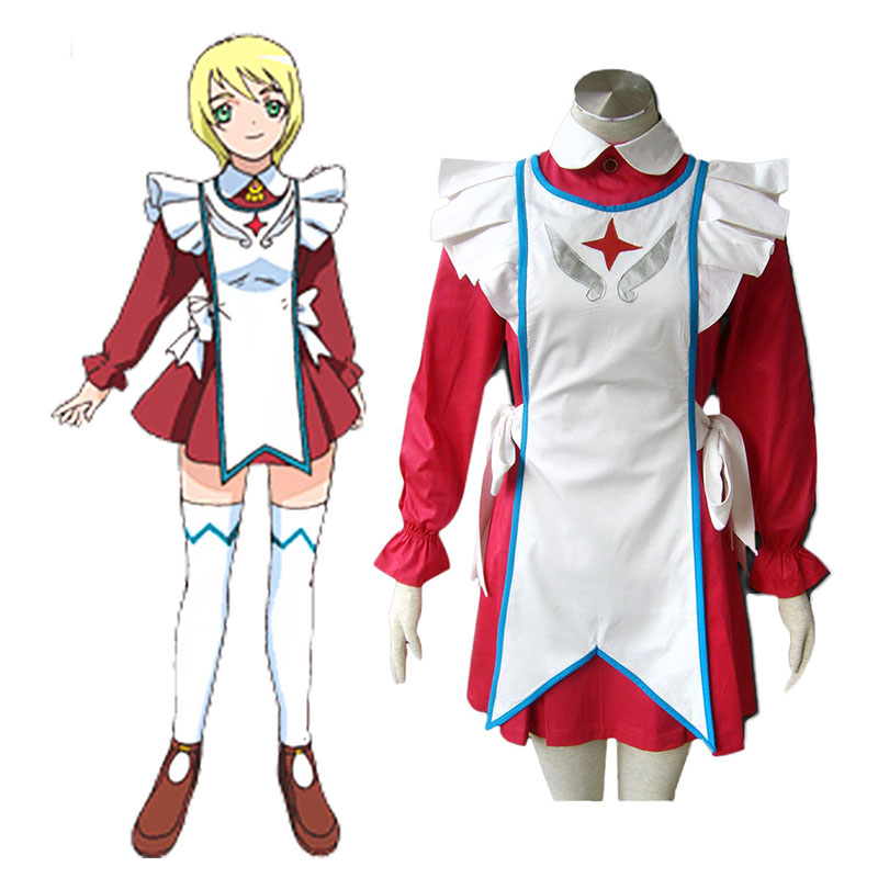 My-Otome Erstin Ho Anime Cosplay Costumes Outfit