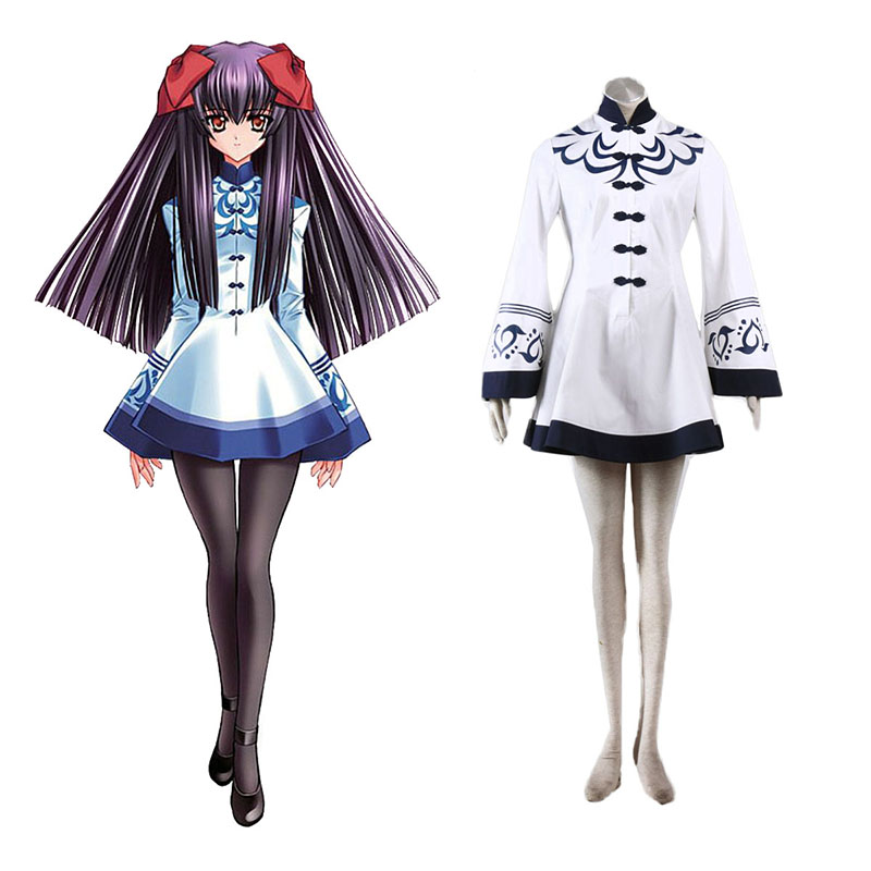 Touka Gettan Winter Female Uniform Anime Cosplay Costumes Outfit