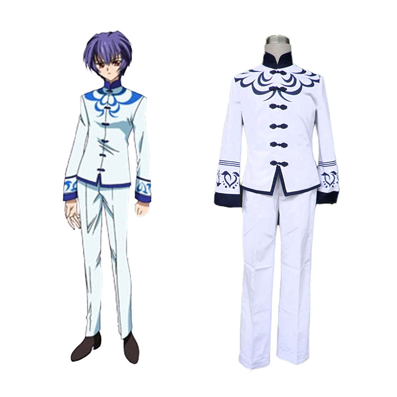 Touka Gettan Male School Uniform Anime Cosplay Costumes Outfit