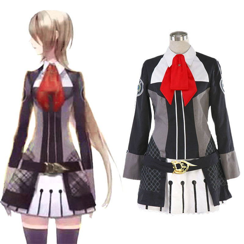 Starry Sky Female Winter School Uniform Anime Cosplay Costumes Outfit
