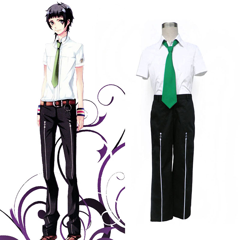 Starry Sky Male Summer School Uniform 2 Anime Cosplay Costumes Outfit