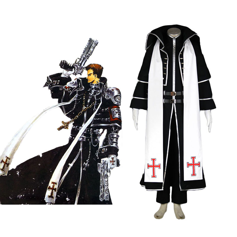 Trinity Blood Tres Iqus 1 Anime Cosplay Costumes Outfit