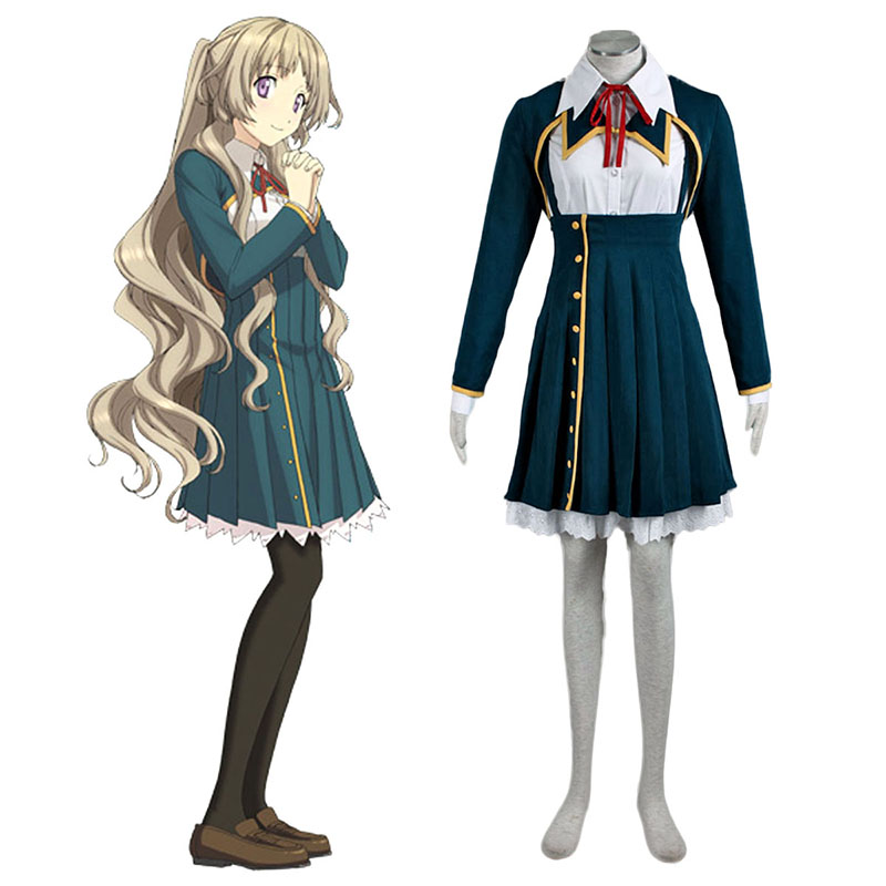 Love, Election and Chocolate Kiba Mifuyu 1 Anime Cosplay Costumes Outfit