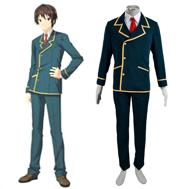 Love, Election and Chocolate Ohjima Yuuki 1 Anime Cosplay Costumes Outfit