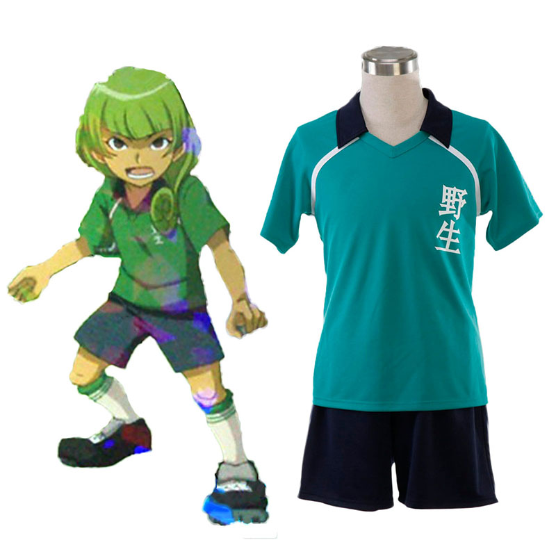 Inazuma Eleven Nosei Summer Soccer Jersey 1 Anime Cosplay Costumes Outfit