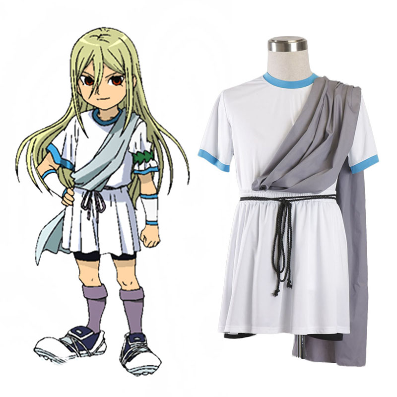 Inazuma Eleven Zeus Soccer Jersey 1 Anime Cosplay Costumes Outfit