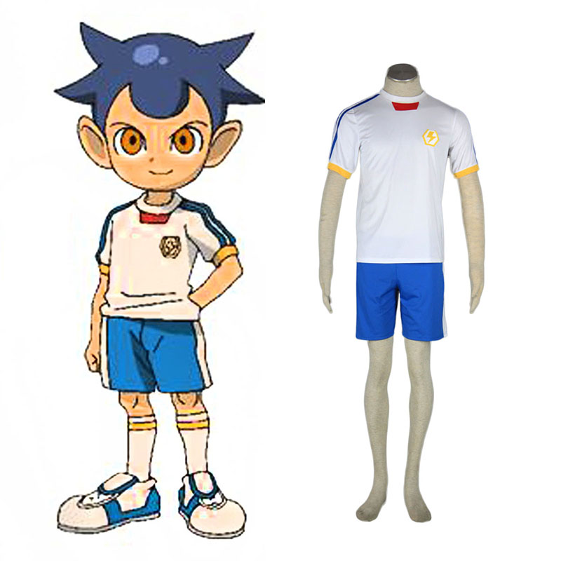 Inazuma Eleven Japan Team Summer 2 Anime Cosplay Costumes Outfit