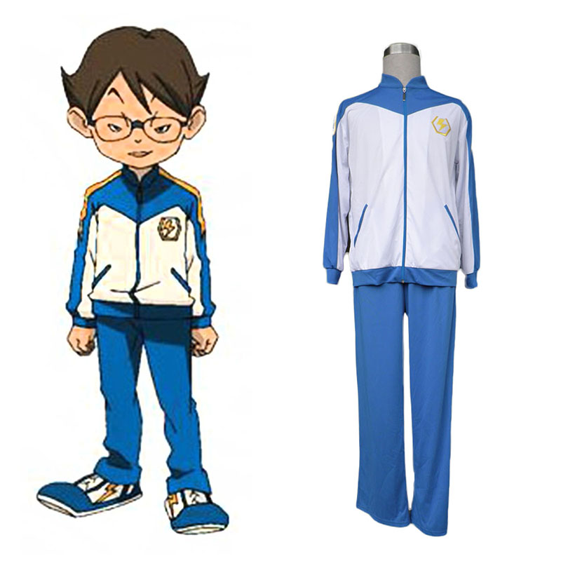 Inazuma Eleven Japan Team Winter 1 Anime Cosplay Costumes Outfit