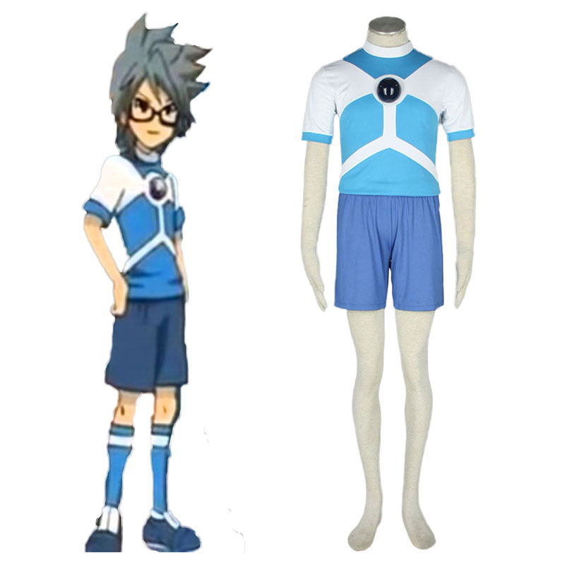 Inazuma Eleven Alien Soccer Jersey Anime Cosplay Costumes Outfit
