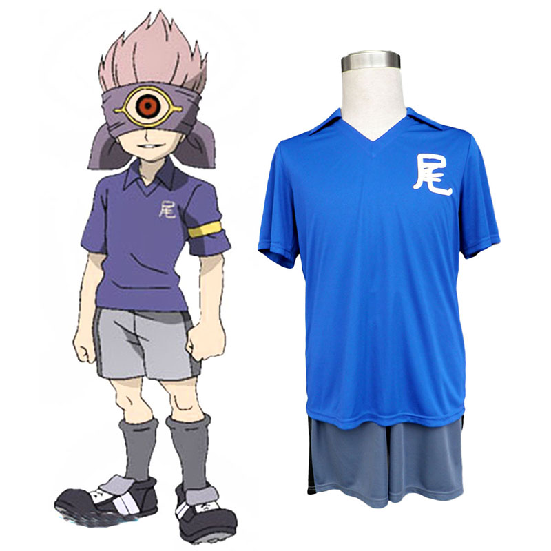 Inazuma Eleven Junior high Soccer Jersey Anime Cosplay Costumes Outfit