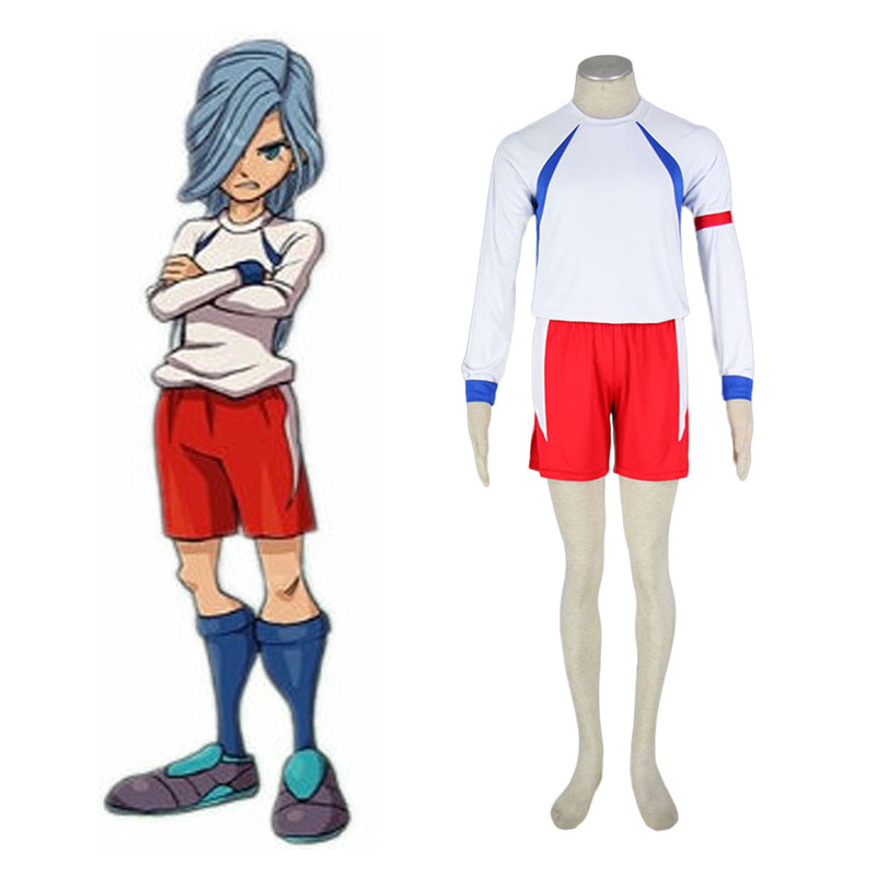 Inazuma Eleven British Team Soccer Jersey 2 Anime Cosplay Costumes Outfit