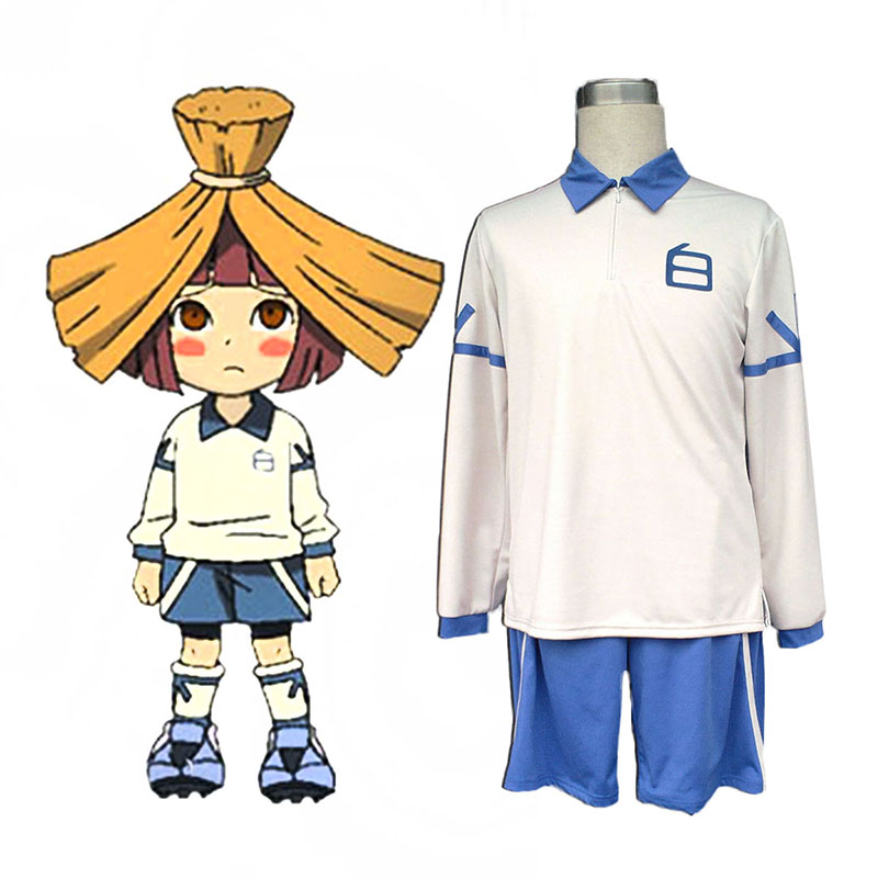 Inazuma Eleven Hakuren Summer Soccer Jersey 2 Anime Cosplay Costumes Outfit