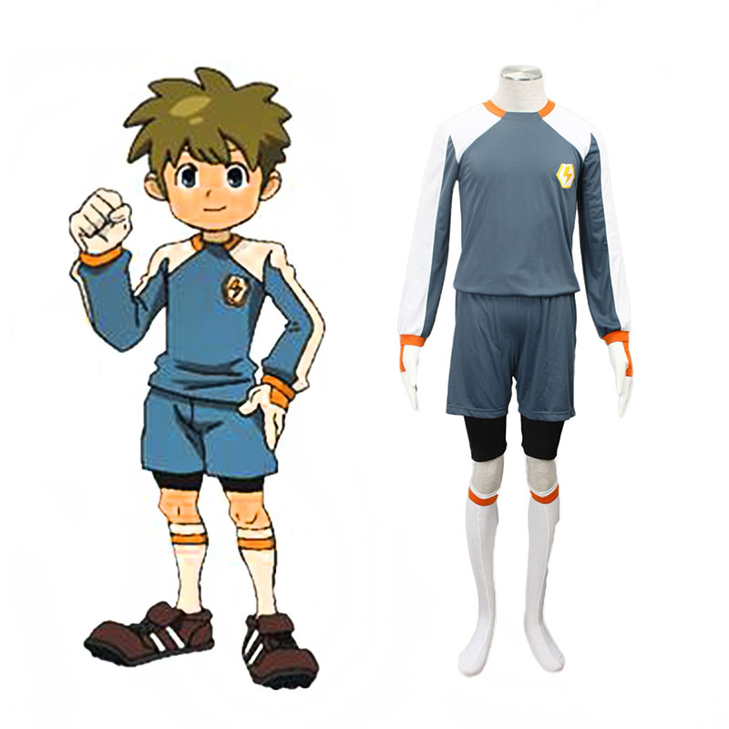 Inazuma Eleven Raimon Goalkeeper Soccer Jersey 2 Anime Cosplay Costumes Outfit