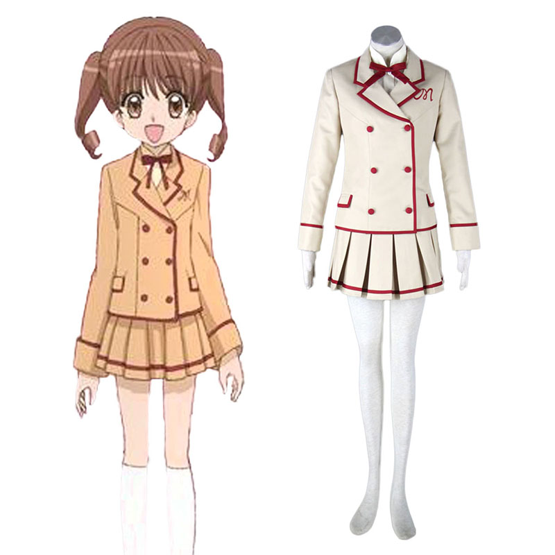 Yumeiro Patissiere Female School Uniform Anime Cosplay Costumes Outfit