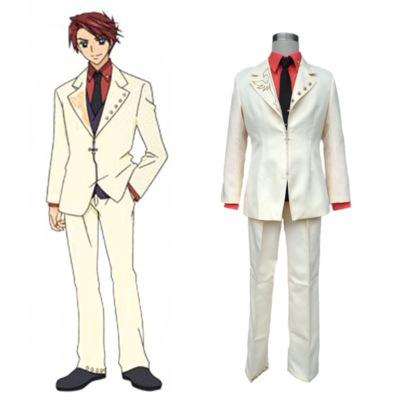 Umineko: When They Cry Battler Ushiromiya Anime Cosplay Costumes Outfit