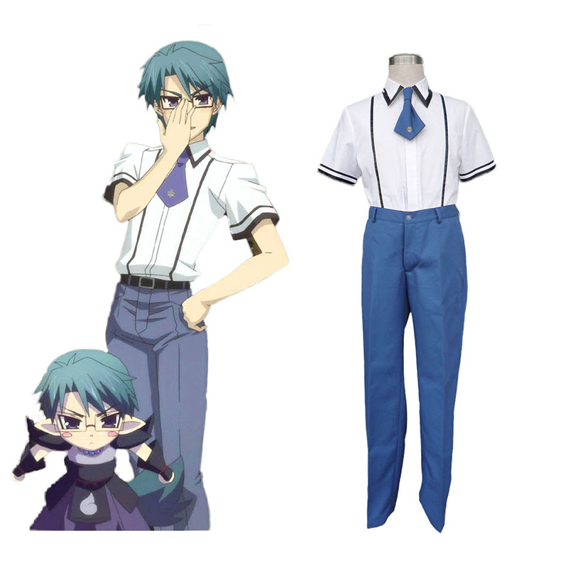Baka and Test Male School Uniform Anime Cosplay Costumes Outfit