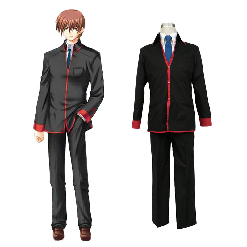 Little Busters Male School Uniform Anime Cosplay Costumes Outfit