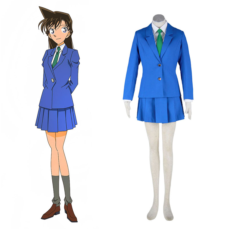 Detective Conan Rachel Moore 1 Anime Cosplay Costumes Outfit