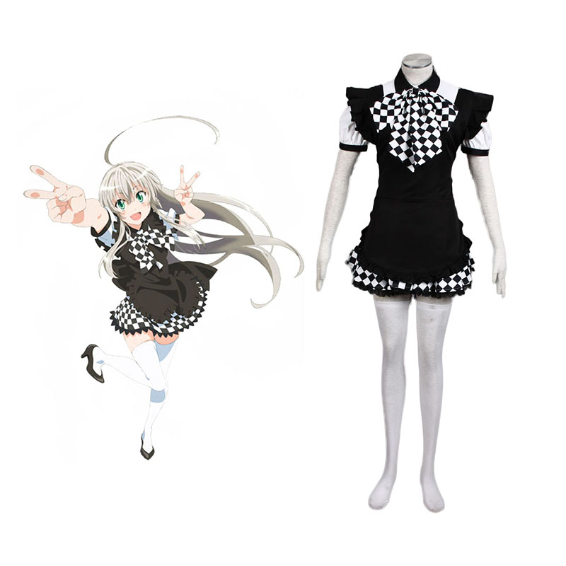 Nyaruko: Crawling with Love Nyaruratohotepu 1 Anime Cosplay Costumes Outfit