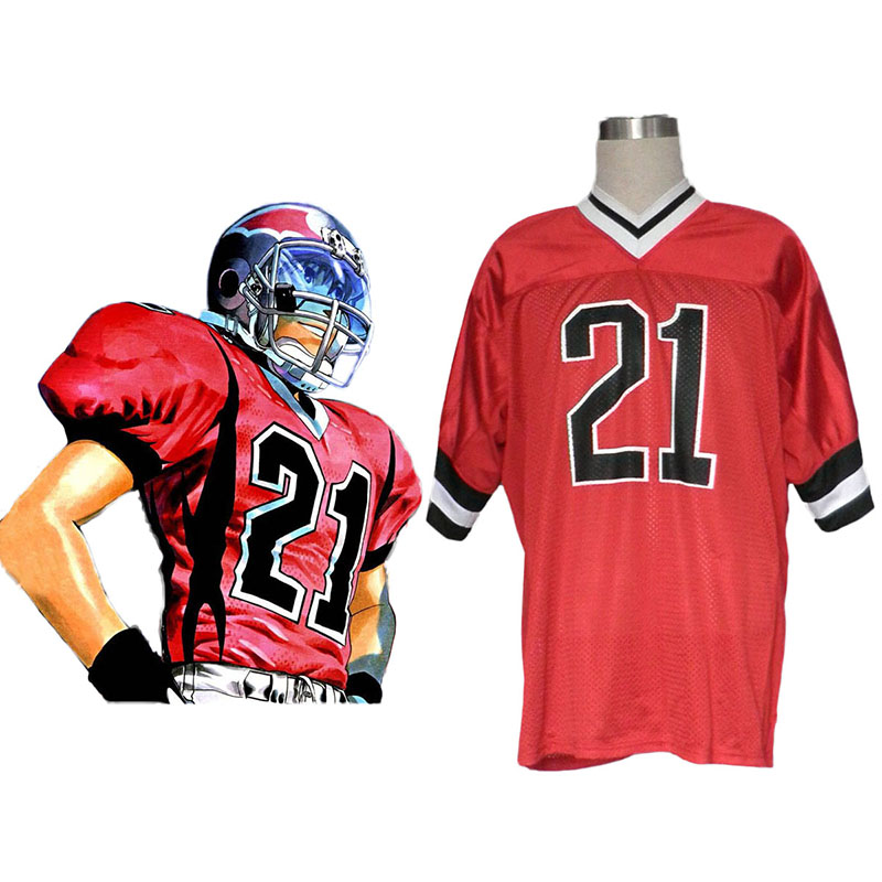 Eyeshield 21 Kobayakawa Sena Anime Cosplay Costumes Outfit