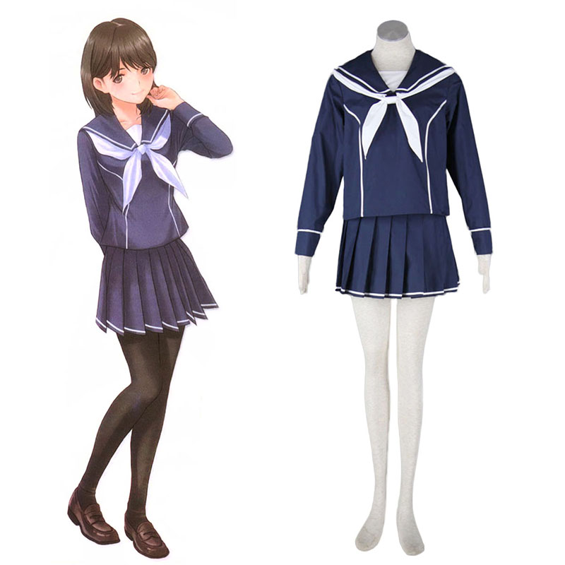 love plus Nene Anegasaki 2 Anime Cosplay Costumes Outfit