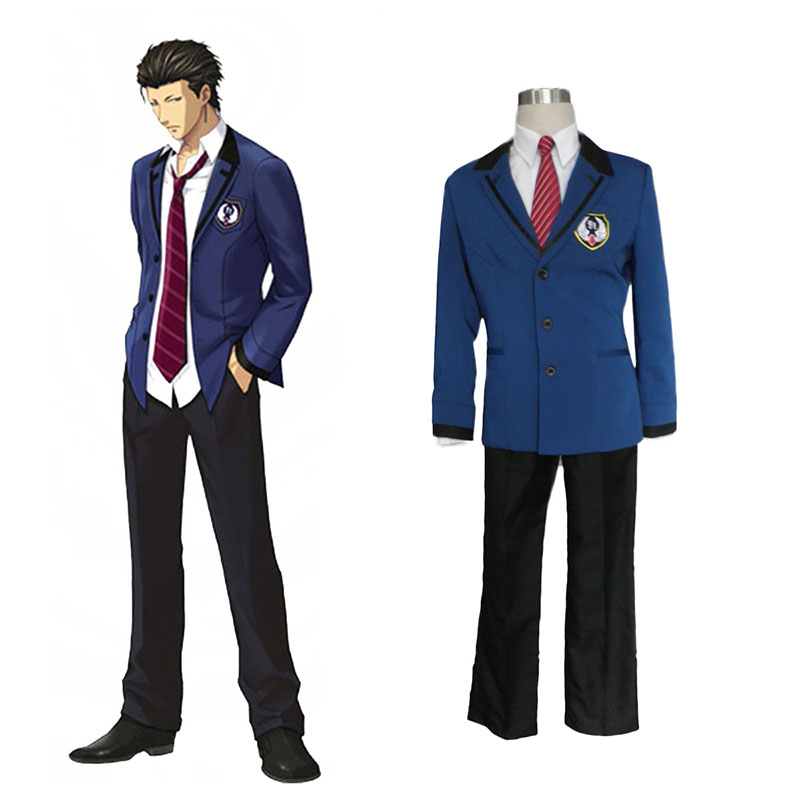 Tokimeki Memorial Girl's Side: 3rd Story Male Uniform 2 Anime Cosplay Costumes Outfit