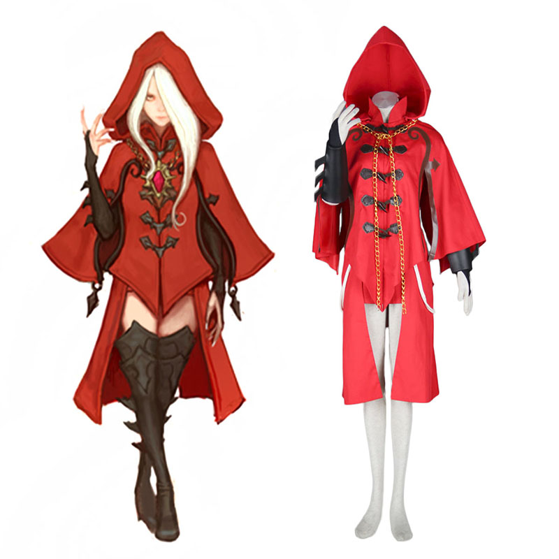 Dragon Nest Argenta Anime Cosplay Costumes Outfit