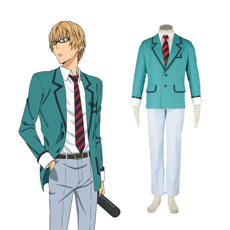 Bakuman Male School Uniform Anime Cosplay Costumes Outfit