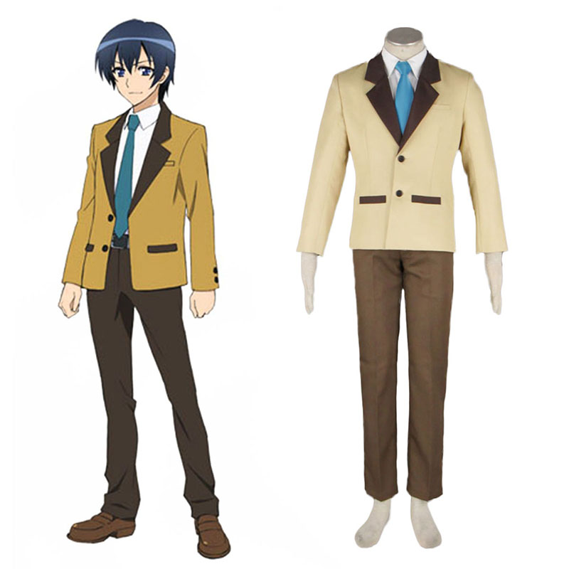 MM! Male Winter School Uniform Anime Cosplay Costumes Outfit