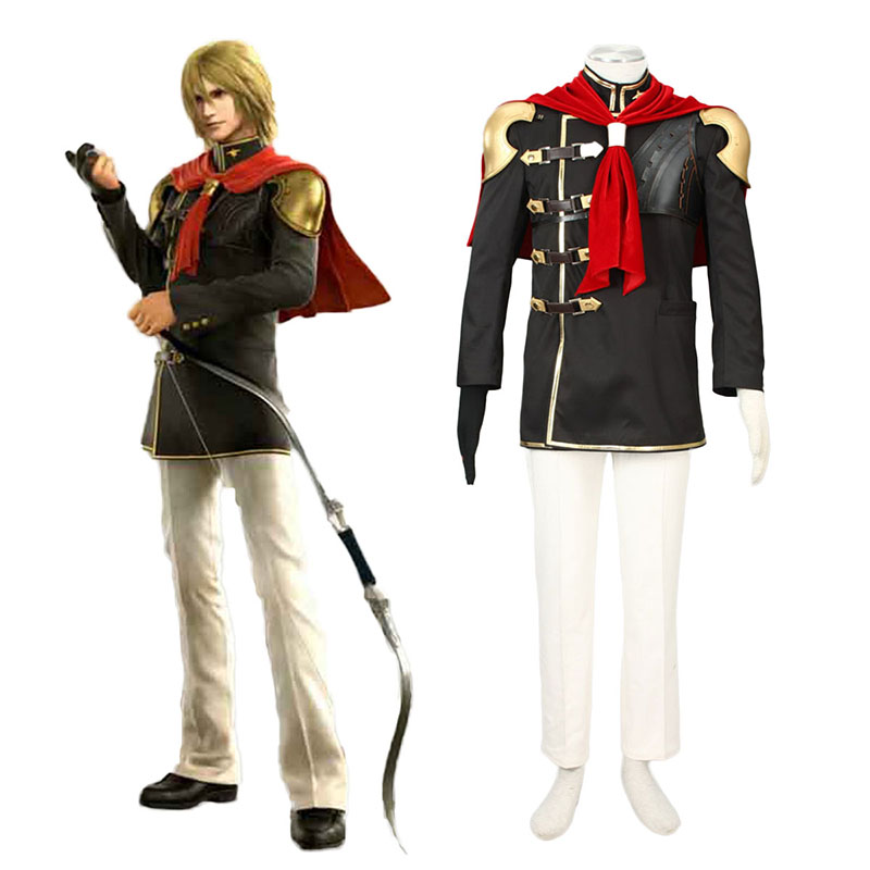 Final Fantasy Type-0 Trey 1 Anime Cosplay Costumes Outfit