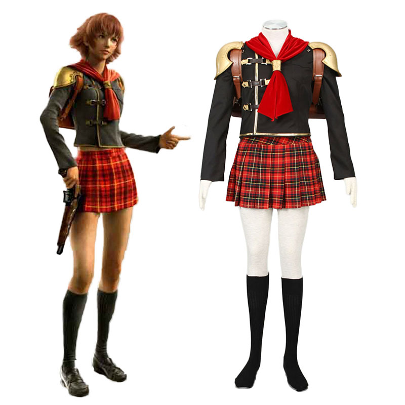 Final Fantasy Type-0 Cater 1 Anime Cosplay Costumes Outfit