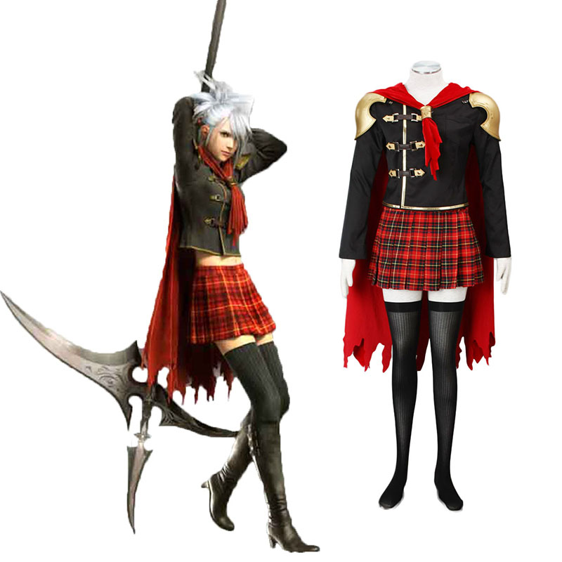 Final Fantasy Type-0 Sice 1 Anime Cosplay Costumes Outfit