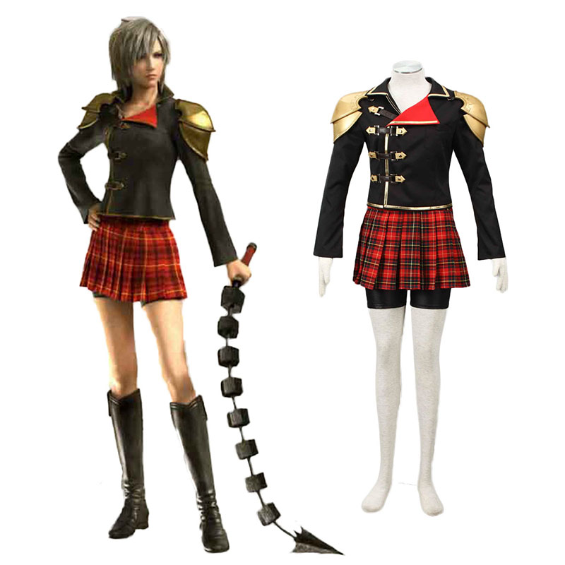 Final Fantasy Type-0 Seven 1 Anime Cosplay Costumes Outfit
