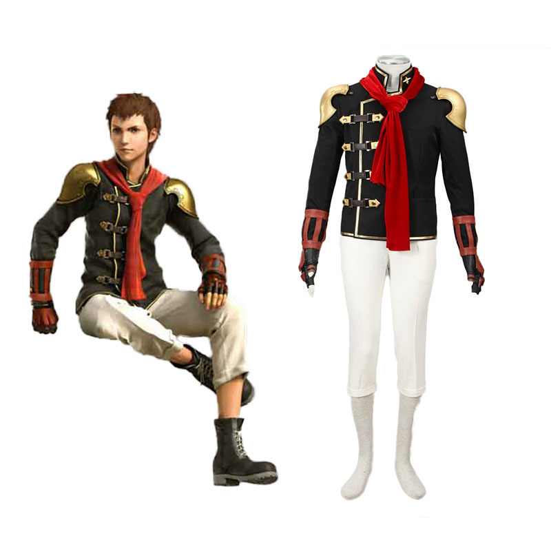 Final Fantasy Type-0 Eingt 1 Anime Cosplay Costumes Outfit