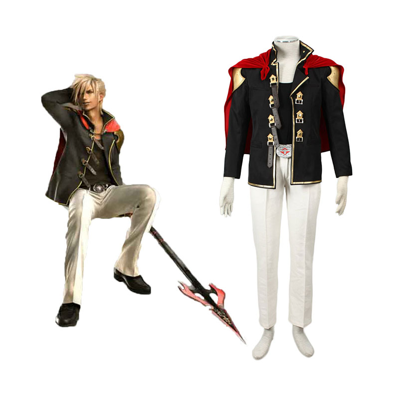 Final Fantasy Type-0 Nine 1 Anime Cosplay Costumes Outfit